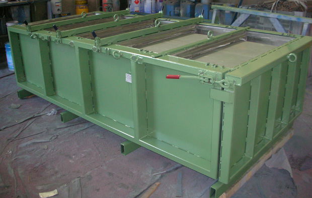 Casting moulds for concrete ducts - C R Stampi Srl